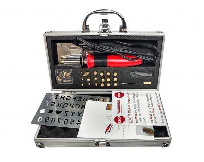 30W woodburning kit with aluminum case